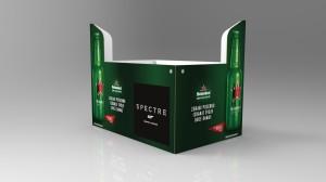 Heineken pallet wrap SPECTRE