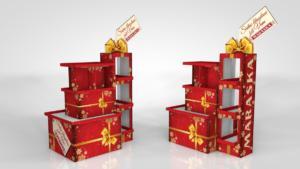 Paletni stalak christmas
