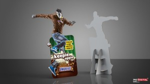 Snickers Standee